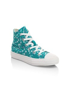 Converse Girl's Hi Pro Blaze St Dolphin Sneakers
