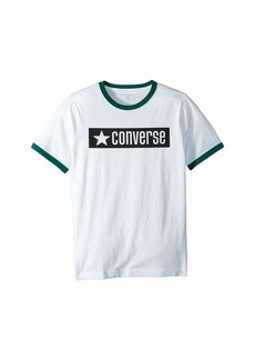 Converse Graphic Ringer Tee (Big Kids)