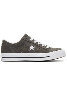 Converse Grey Suede One Star Vintage OX Sneakers