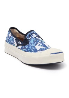 Converse Jack Purcell Leaf Print Slip-On Sneaker