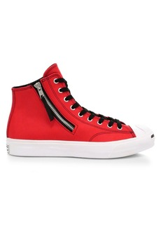 Converse Jack Purcell Zip High-Top Sneakers