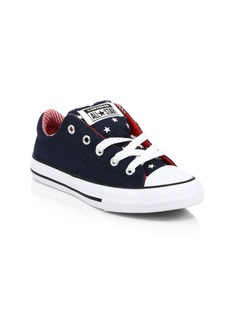 Converse Kid's Bars & Stripes Low-Top Sneakers