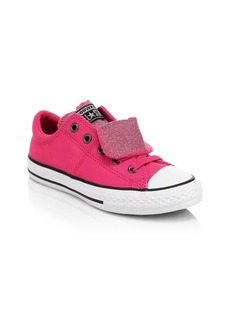 Converse Kid's Chuck Taylor All Star Glitter Leather Sneakers