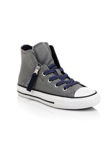 Converse Kid's Chuck Taylor All Star Zip Sneakers