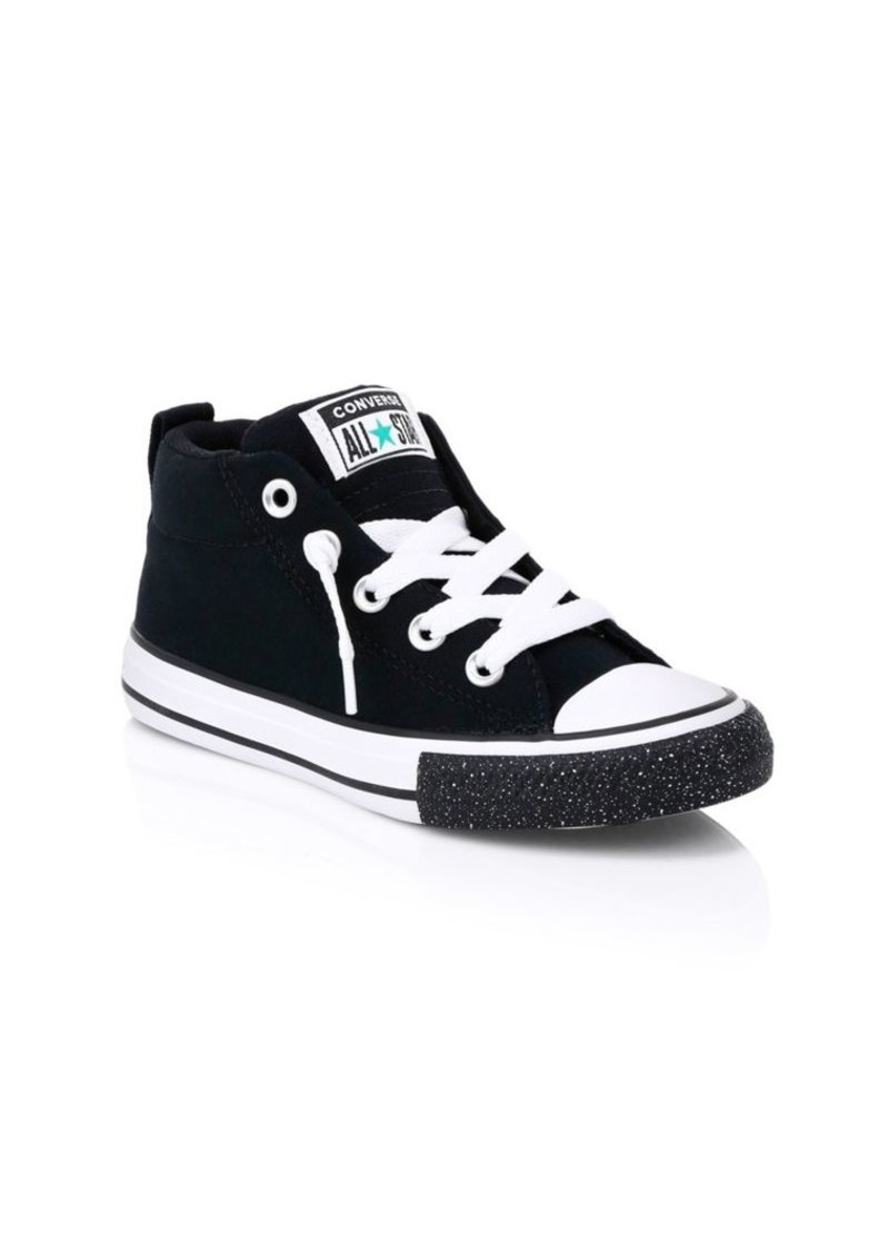 Converse Kid's Chuck Taylor All Stars Street Mid-Top Sneakers