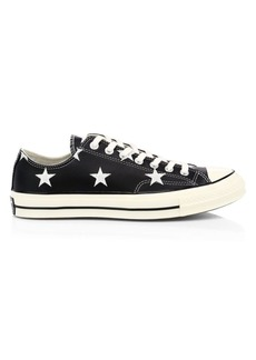 Converse Leather Archive Prints Chuck 70 Low Top Star Print Sneakers