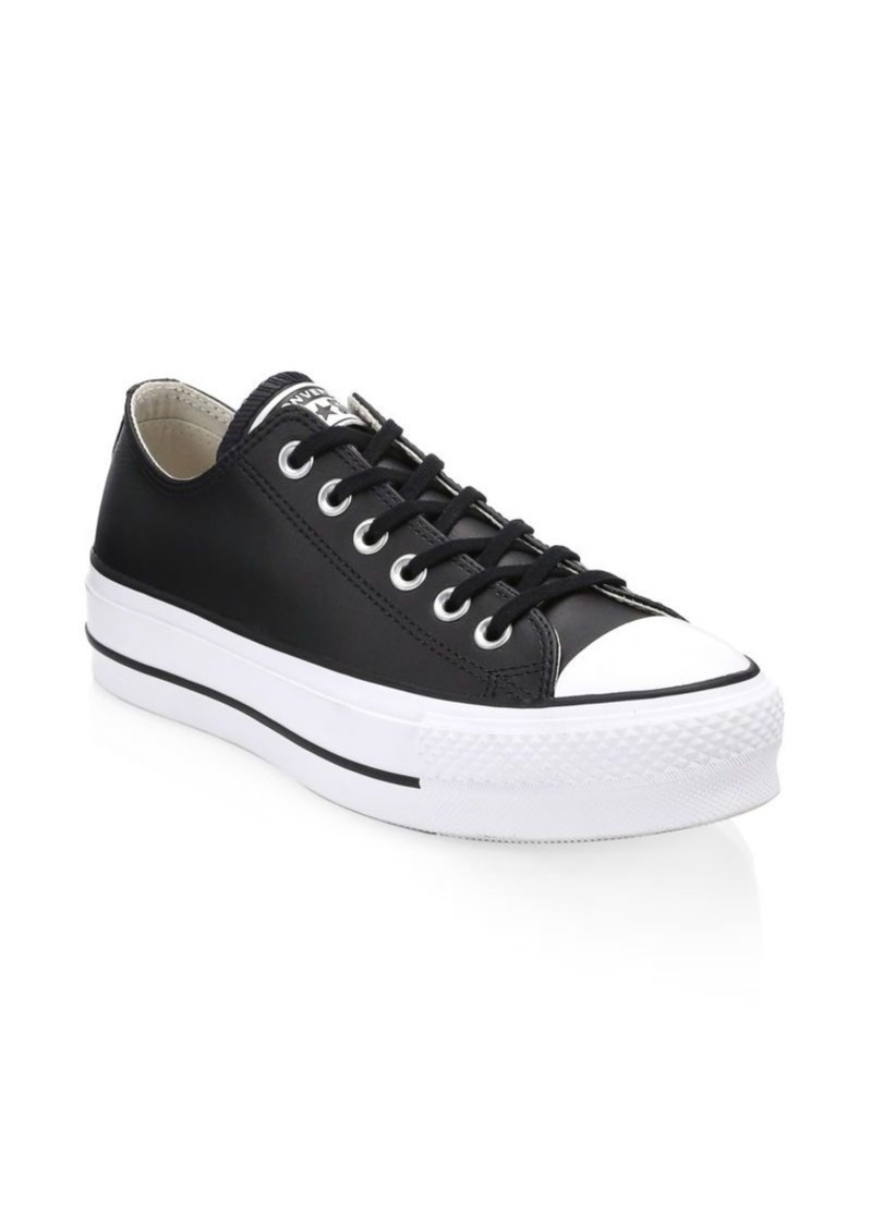 d3e7a1cec8e Converse Lift Leather Platform Sneakers