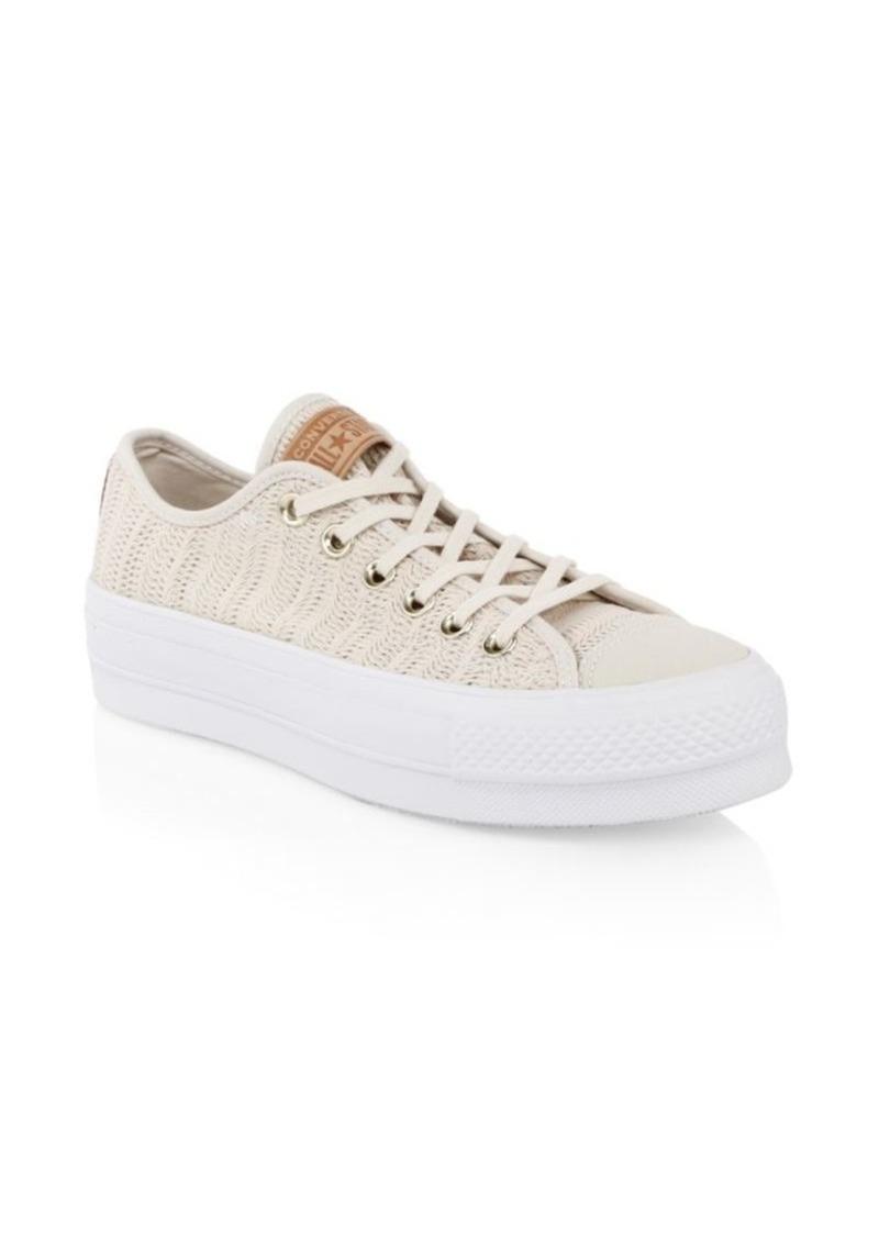 Converse Lift Ox Woven Sneakers dwYYzL