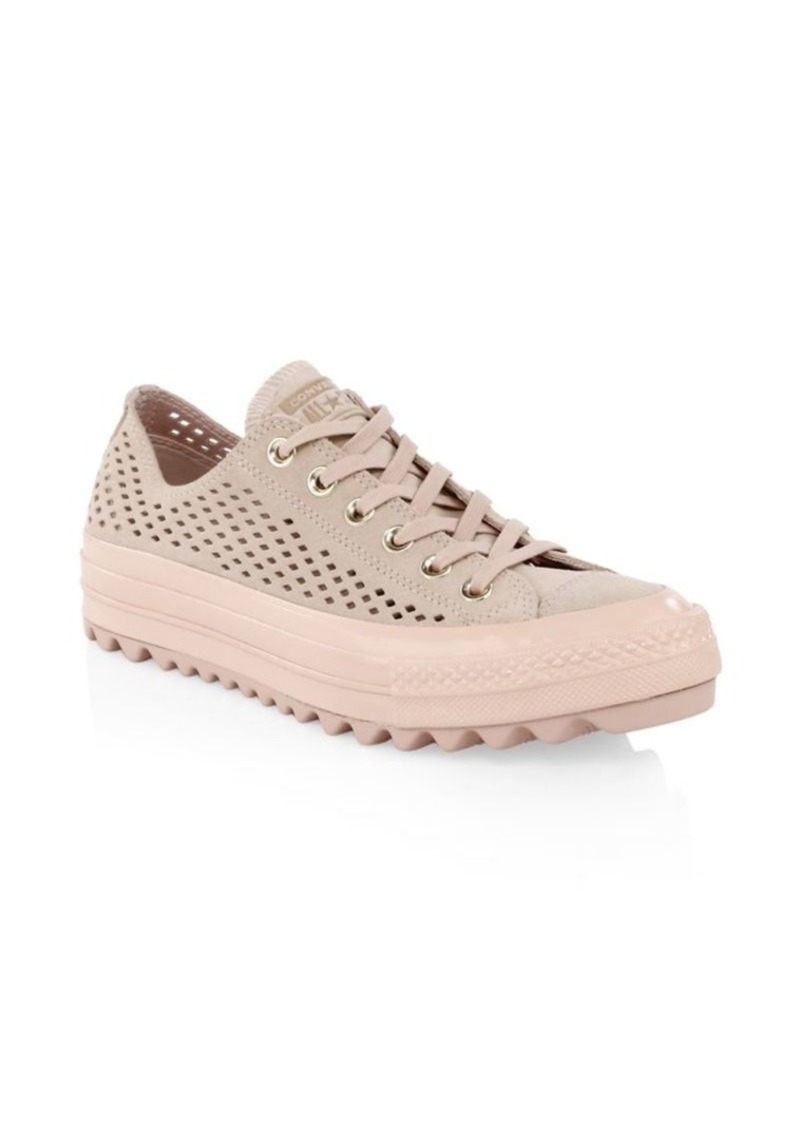 c7264f7f5397 Converse Lift Ripple Ox Perforated Sneakers