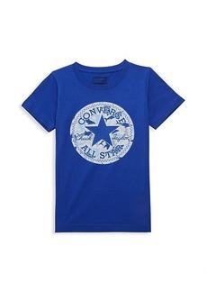 Converse Little Boy's Shark Graphic Logo T-Shirt