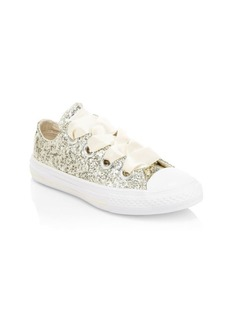 Converse Little Girl's Chuck Taylor All Star Glitter Sneakers