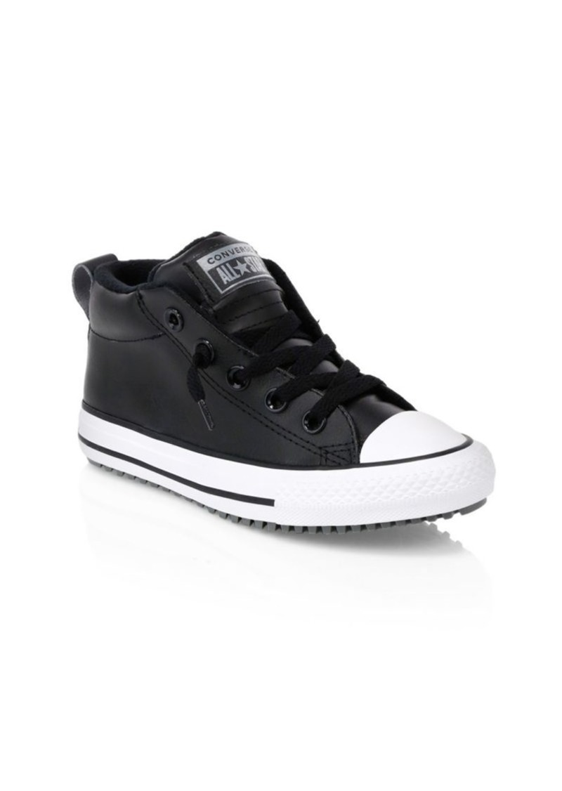 Converse Little Kid's & Kid's Chuck Taylor All Star Leather Sneakers