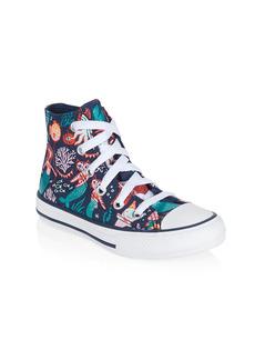 Converse Little Kid's & Kid's Mermaid-Print High-Top Sneakers
