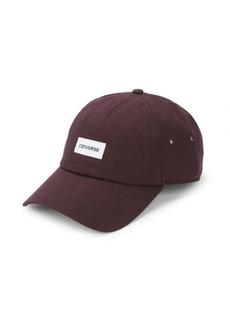Converse Logo Cotton Baseball Cap