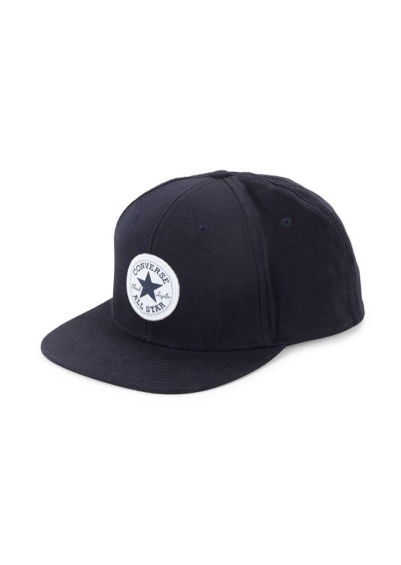 Converse Logo Patch Cotton Baseball Cap