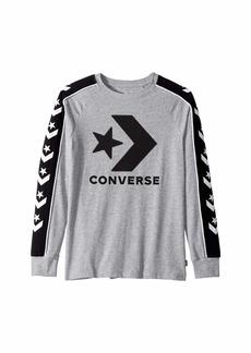 Converse Long Sleeve Track Tee (Big Kids)