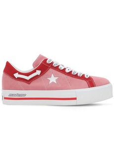 Converse Mademe One Star Platform Sneakers