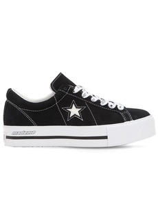 Converse Mademe One Star Suede Platform Sneakers