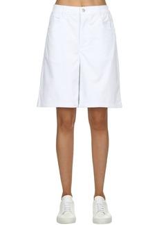Converse Mademe Striped Cotton Shorts