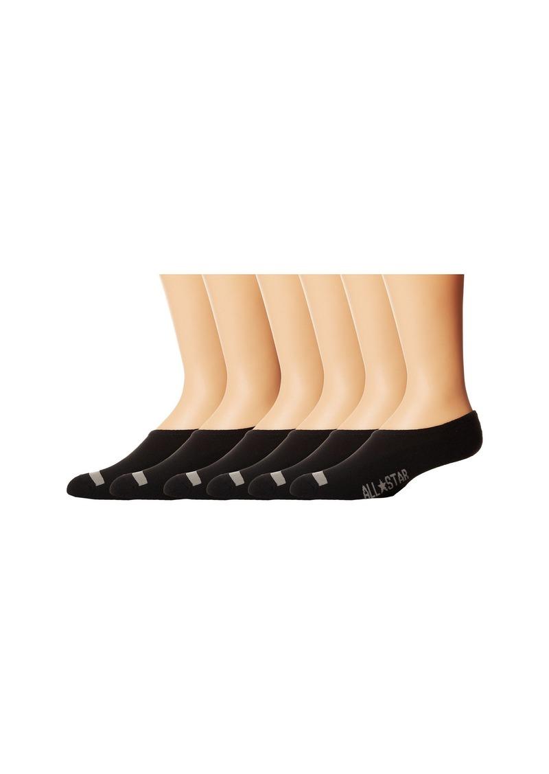 Converse Cut-for-Chucks No-Show Sock 6-Pair Pack