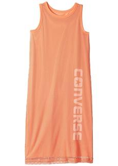 Converse Mesh Tank Dress (Big Kids)