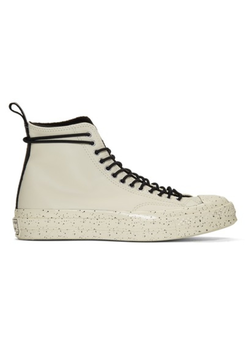 Converse Off-White Chuck 70 Speckled Hi Sneakers