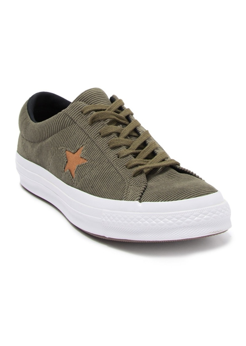 Converse One Star OX Corduroy Low Top Sneaker (Unisex)