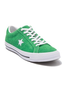 Converse One Star Oxford Suede Green Star Sneaker (Unisex)