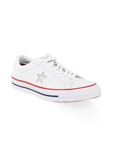 Converse One Star Ox/White & Gym Red