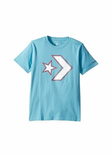 Converse Outlined Star Chevron Tee (Big Kids)