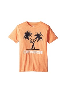 Converse Palm Tree Hoops Tee (Big Kids)
