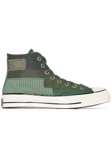 Converse patchwork Chuck 70 high-top sneakers