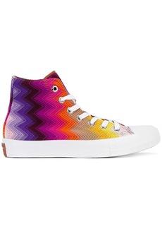 Converse printed hi-top sneakers