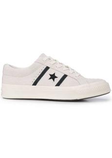 Converse side logo sneakers