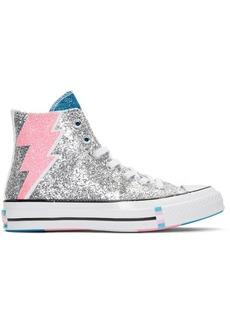 Converse Silver Chuck 70 Pride High Sneakers