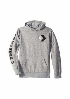 Converse Star Chevron Graphic Pullover Hoodie (Big Kids)