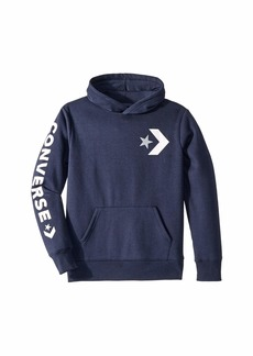 Converse Star Chevron Graphic Pullover Hoodie (Big Kids)