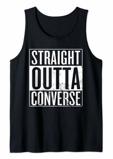 Straight Outta Converse Texas Tank Top