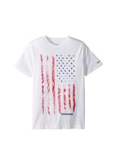 Converse Tie-Dye Flag Tee (Big Kids)