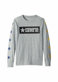 Converse Vintage Star Long Sleeve Tee (Big Kids)