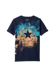 Converse Watercolor Chuck Patch Tee (Big Kids)