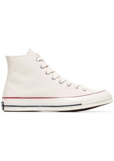 Converse white Chuck Taylor All Stars 70 canvas high top sneakers