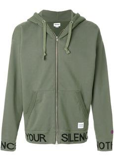 Converse zip hoodie