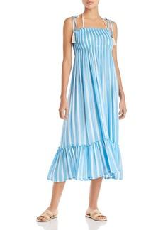 Coolchange Piper Toiny Striped Midi Dress Swim Cover-Up