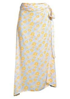 coolchange Millie Floral Wrap Skirt
