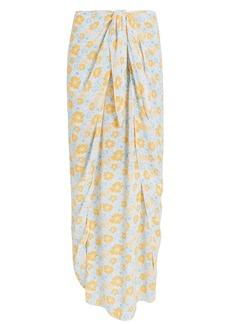 coolchange Nuella Draped Midi Skirt