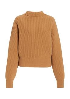 Cordova - Women's Megeve Ribbed-Knit Wool Sweater - Neutral - Moda Operandi