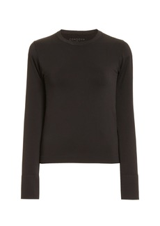 Cordova - Women's Ribbed-Knit Base Layer Top - Black - Moda Operandi