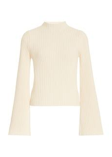 Cordova - Women's Solitude Ribbed-Knit Wool-Cashmere Top - White - Moda Operandi