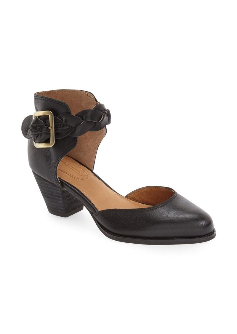 Corso Como 'Burlap' Braided Ankle Strap Pump (Women)